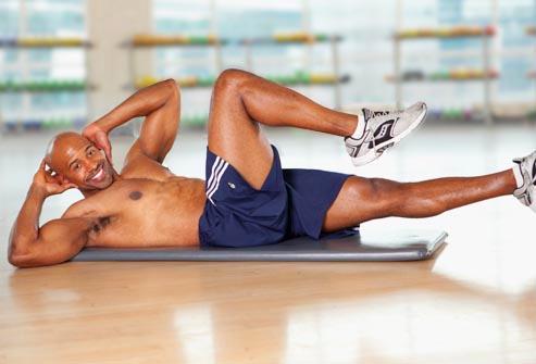 5 bài tập giảm mỡ bụng nhanh chóng cho nam 5