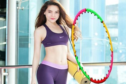 Lắc vòng giảm mỡ bụng đúng cách không sợ to chân