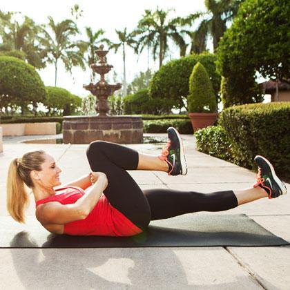 Những bài tập giảm mỡ bụng hiệu quả tức thì 3