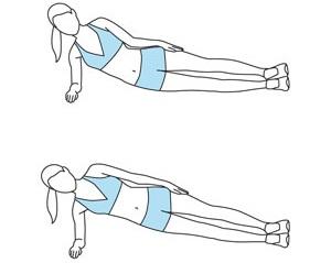 Những bài tập thể dục giảm béo bụng mỡ nhanh nhất  4