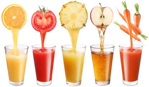 Thực đơn giảm béo cấp tốc với ly nước ép giải khát vào mùa hè oi bức
