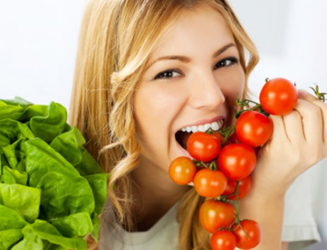 Bất ngờ với thực đơn giảm cân nhanh bằng cà chua 1