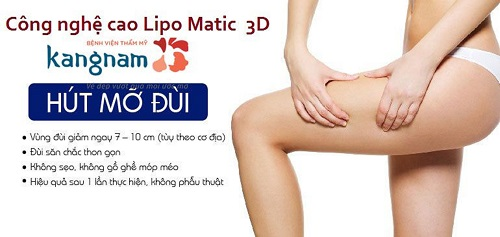 Giảm mỡ đùi bằng Lipo Matic 3D phải thực hiện mấy lần mới hiệu quả?