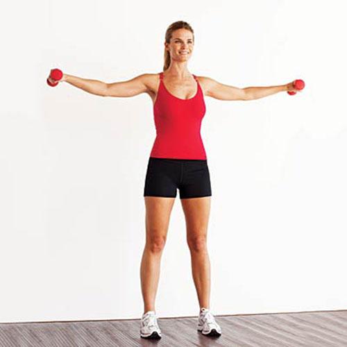 Những động tác đơn giản đánh tan mỡ thừa vùng cánh tay 2