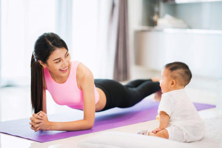 Làm sao để giảm mỡ bụng hiệu quả ngay sau khi sinh AN TOÀN