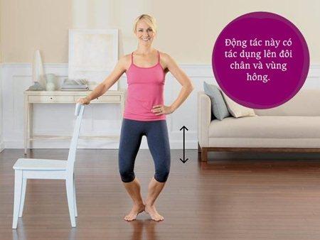 """5 động tác giúp phái đẹp tự tin """"nói không"""" với mỡ thừa 3"""