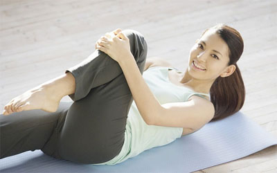 """Thể dục giảm cân cho vòng eo bánh mỳ """"mi nhon"""" hơn 1"""
