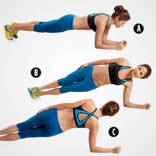 5 phút gập bụng giảm mỡ bụng cho thân hình săn chắc 1