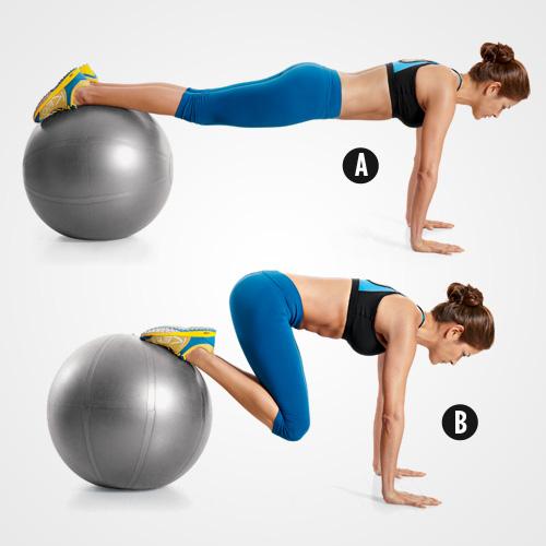 5 phút gập bụng giảm mỡ bụng cho thân hình săn chắc 4