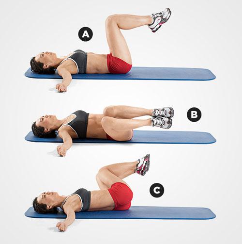 Tự tin thả dáng nuột với 3 bài tập thể dục giảm mỡ bụng 2