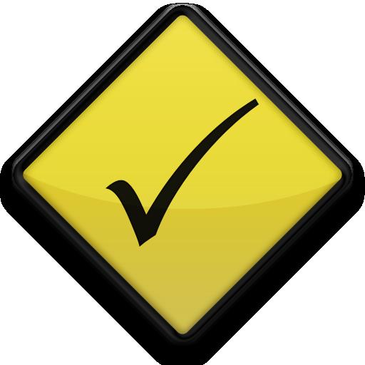 021643-yellow-road-sign-icon-symbols-shapes-check-mark