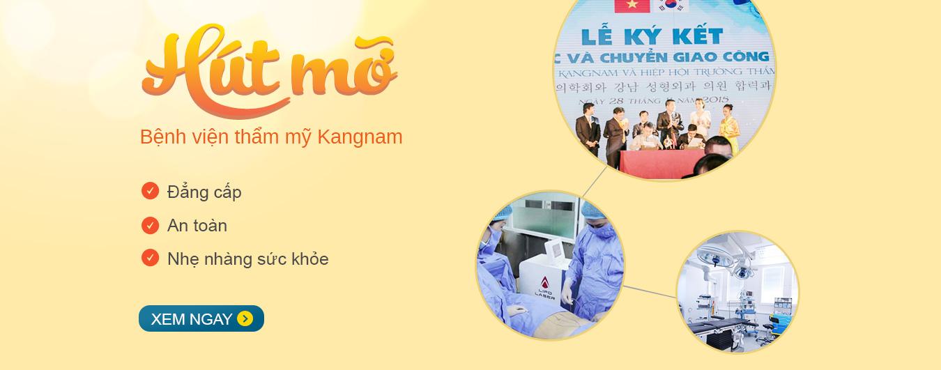 Hút mỡ không phẫu thuật an toàn tại BVTM Kangnam