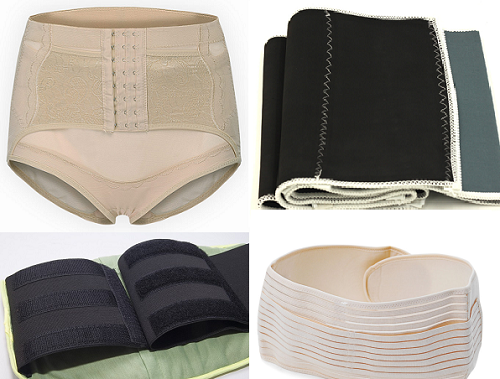 Có rất nhiều loại đai nịt bụng, tùy thuộc vào từng đối tượng áp dụng mà chọn lựa cho phù hợp