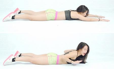 cách giảm mỡ lưng