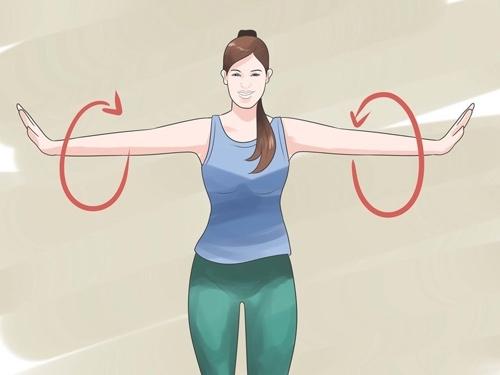 giảm mỡ bắp tay nhanh chóng